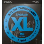D'Addario Black Nylon Flatwound