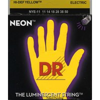 DR NYE-11 NEON HiDef Yellow SuperStrings - Heavy