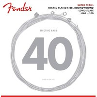 Fender 7250L Nickelplated Steel - Light 040/100