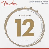 Fender 60L Phosphor Bronze 012/053