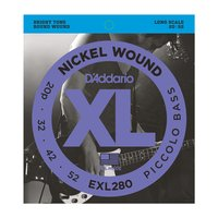 DAddario EXL280 Piccolo Bass Strings