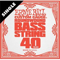 Ernie Ball Bass Slinky Single Strings