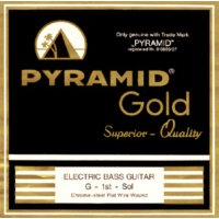 Pyramid Flatwound Long Scale Single Strings